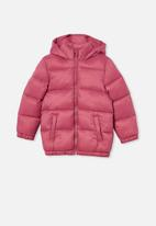 Cotton On - Frankie puffer jacket - purple