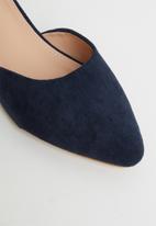 Butterfly Feet - Sling ankle strap heel - navy