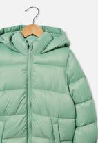 Cotton On - Frankie puffer jacket - green