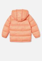 Cotton On - Frankie puffer jacket - orange