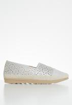 Butterfly Feet - Edna espadrille - grey