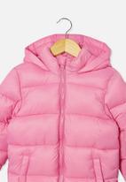 Cotton On - Frankie puffer jacket - pink