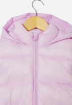 Cotton On - Frankie puffer jacket - pale