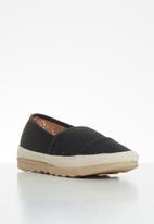 Butterfly Feet - Edna espadrille - black