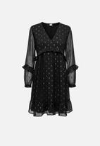 Jacqueline de Yong - Shimmer dress - black