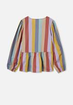 Free by Cotton On - Marloe long sleeve top - multi