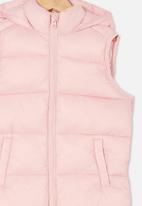 Cotton On - Billie puffer vest - pink