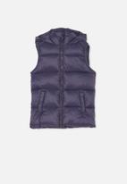 Cotton On - Billie puffer vest - navy