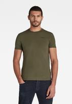 G-Star RAW - Slim base r short sleeve tee - green