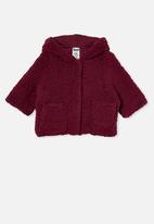 Cotton On - Ashley jacket - burgundy