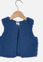 Cotton On - Alex vest - dark blue