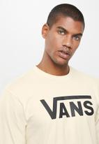 Vans - Vans classic long sleeve tee - neutral