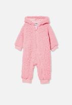 Cotton On - Archie all in one - pink