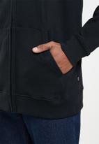 Vans - Vans classic zip hoodie ii - black & white