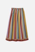 Free by Cotton On - Yasmin midi skirt - multi