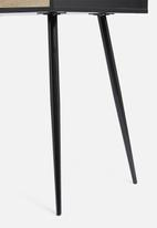 Calasca - Fine living New Yorker desk - black