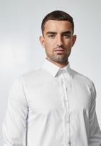 Superbalist - Jos slim fit cotton sateen long sleeve shirt - multi