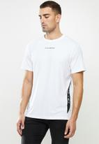 G-Star RAW - Sport a tape r short sleeve tee - white