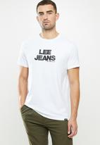 Lee  - Stitched jean - white