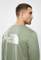 The North Face - Long sleeve easy tee - green