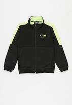 PUMA - Active sports poly full-zip - black