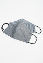 Superbalist - 2-pack face mask - grey
