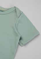 Superbalist Kids - Baby boys 2 pack tees - green & white