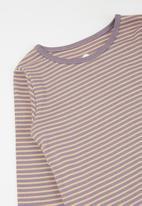 Cotton On - Jessie crew - purple & peach