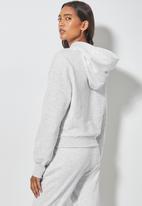 Superbalist - Crop hoodie - grey