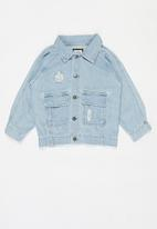 Cotton On - Tobi utility denim jacket - blue