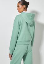 Superbalist - Crop hoodie - green