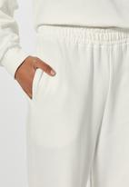 Superbalist - Wide leg track pants - cream