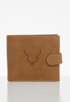 FSP Collection - Kudu embossed leather bifold wallet - tan