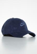Nike - Nsw h86 futura corduroy - navy