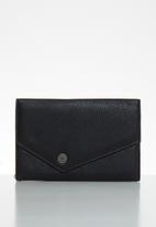 Roxy - Always on my mind trifold purse - black