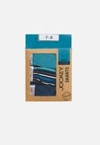 Jockey - Boys 3 pack fancy skants - blue