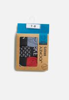 Jockey - Boys 3 pack fancy briefs - multi