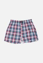 Jockey - Boys 2 pack woven boxers - multi