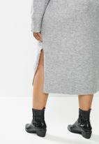 Violeta by Mango - Plus dress greta - grey