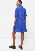 MANGO - Dress lucha - blue