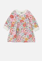 Cotton On - Tina fleece dress - multi