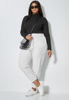 Superbalist - 2 Pack funnel neck bodysuit - black & white