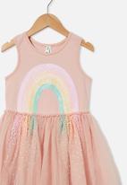 Cotton On - Iris dress up dress - dusty pink