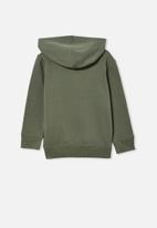 Cotton On - Milo hoodie - olive