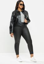Glamorous - Plus woven jacket - black