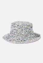 Rubi - Elly reversible wide brim bucket hat - multi