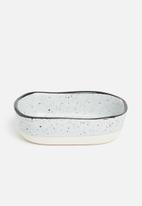 Excellent Housewares - Granite dip bowl set of 4 - multi