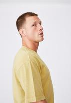 Cotton On - Washed pocket T-shirt - frosted honey