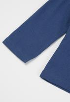 MANGO - Oficio long sleeve tee - navy