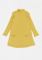 MANGO - Arib dress - yellow